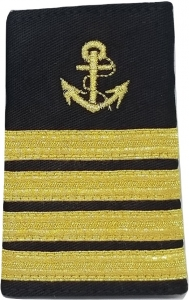 22e1bd7351e Shoulder Board Epaulets For Captain And Mates With Anchor Symbol